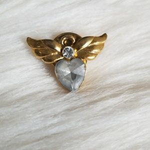 Vintage Avon Heart with Wings Pin